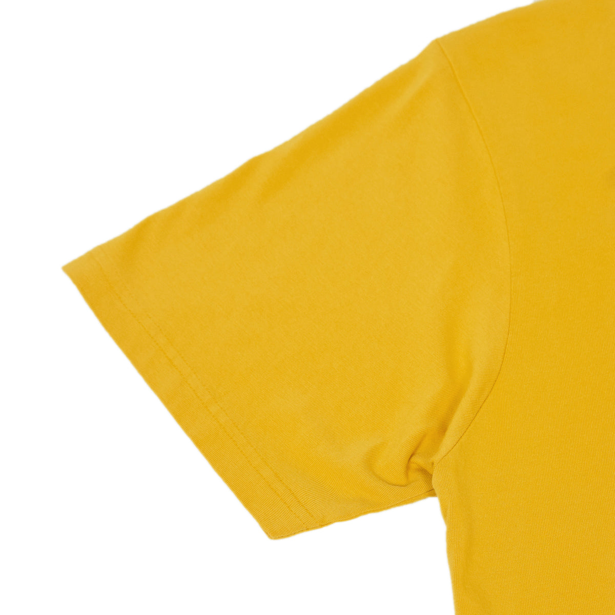 Colorful Standard Organic Cotton Tee Burned Yellow arm