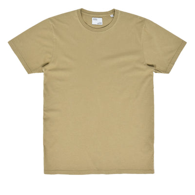 Colorful Standard Organic Cotton Tee Desert Khaki front