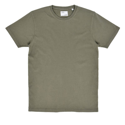 Colorful Standard Organic Cotton Tee Dusty Olive front