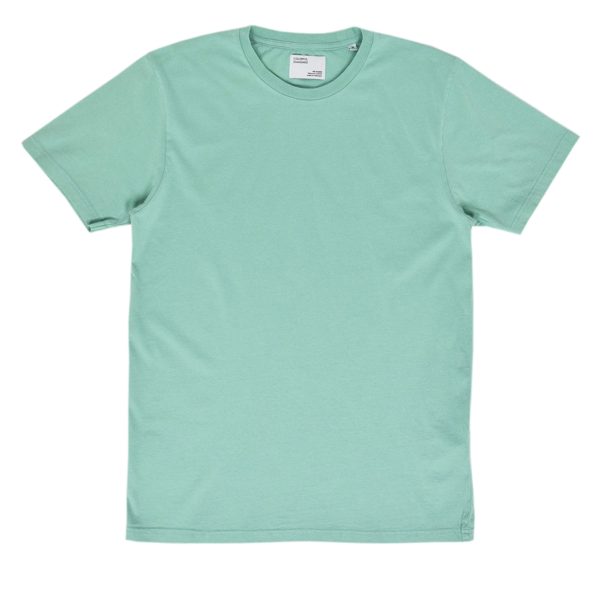 Colorful Standard Organic Cotton Tee Faded Mint front
