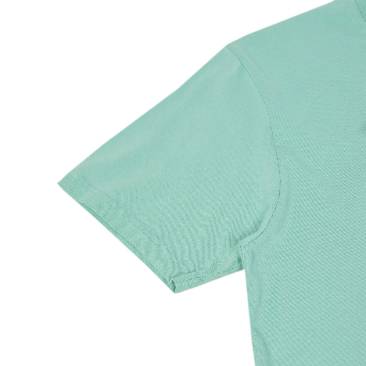 Colorful Standard Organic Cotton Tee Faded Mint arm