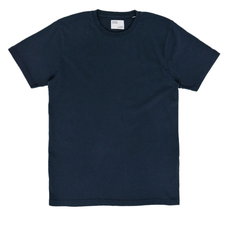 Colorful Standard Organic Cotton Tee Navy Blue front