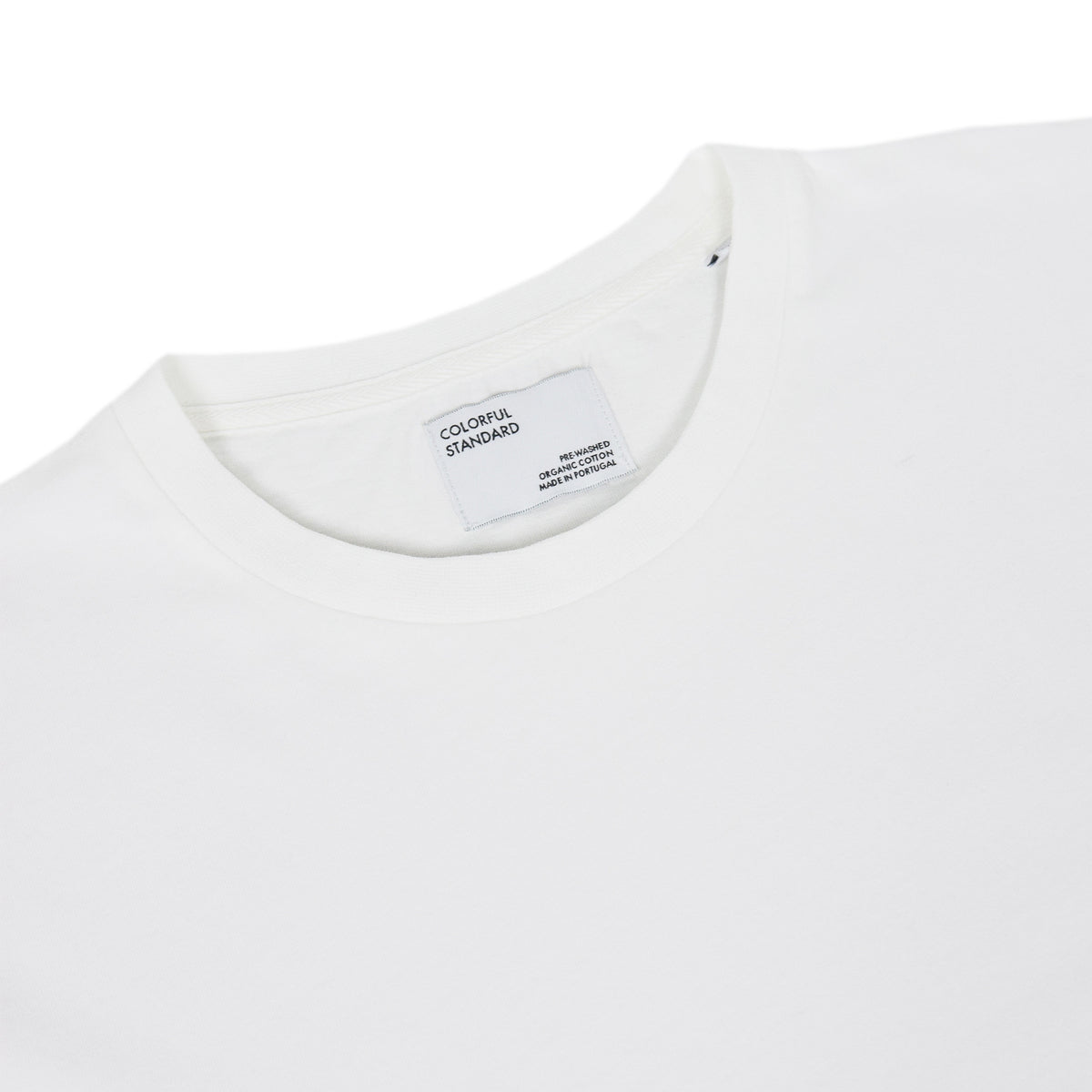 Colorful Standard Organic Cotton Tee Optical White collar