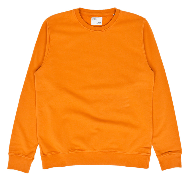 Colorful Standard Crew Sweat Organic Cotton Burned Orange front