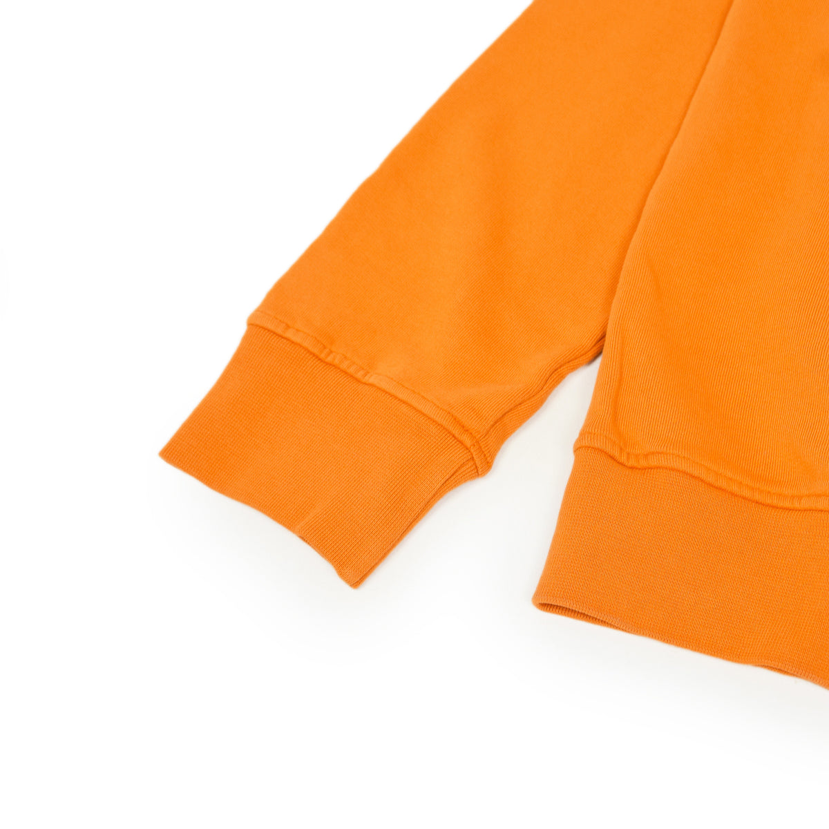 Colorful Standard Crew Sweat Organic Cotton Burned Orange cuff