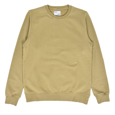 Colorful Standard Crew Sweat Organic Cotton Desert Khaki front