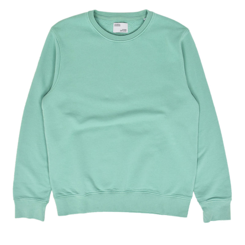 Colorful Standard Crew Sweat Organic Cotton Faded Mint front