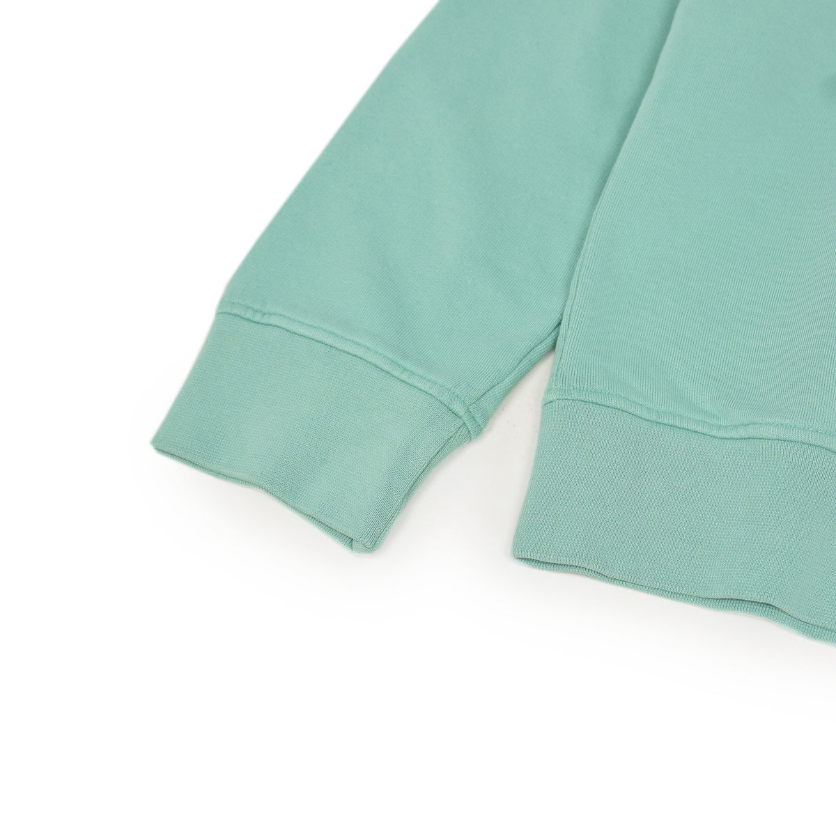 Colorful Standard Crew Sweat Organic Cotton Faded Mint arm