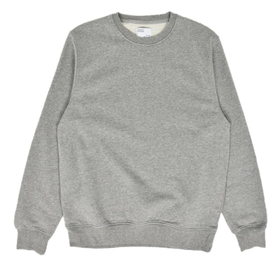 Colorful Standard Crew Sweat Organic Cotton Heather Grey front
