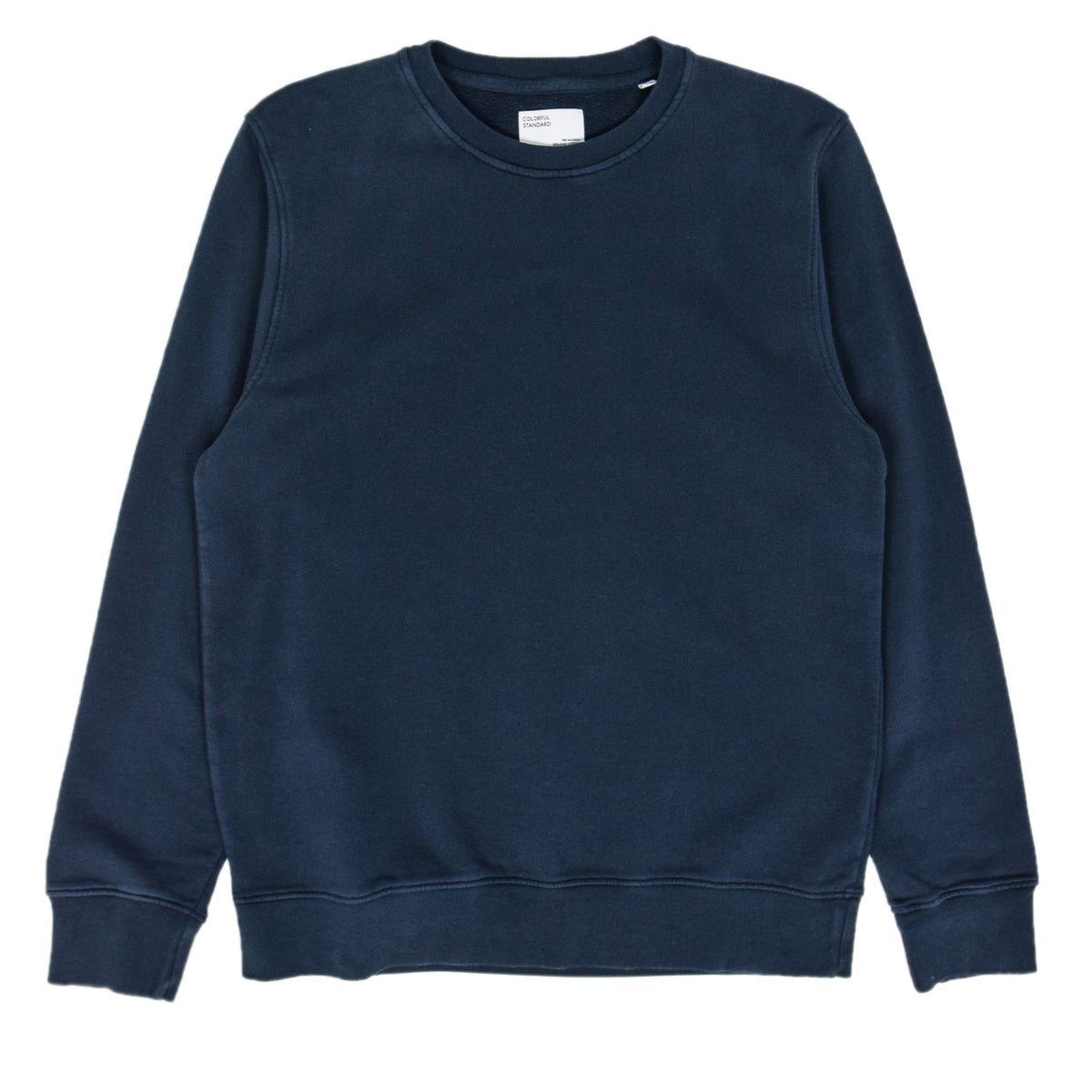 Colorful Standard Crew Sweat Organic Cotton Navy Blue front