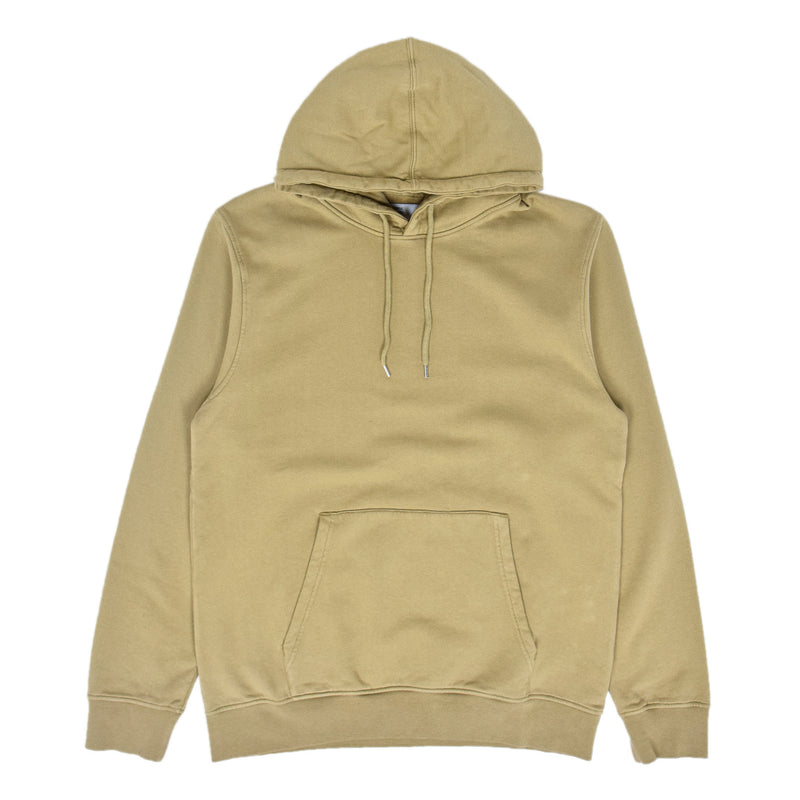 Colorful Standard Classic Organic Cotton Hood Sweat Desert Khaki front