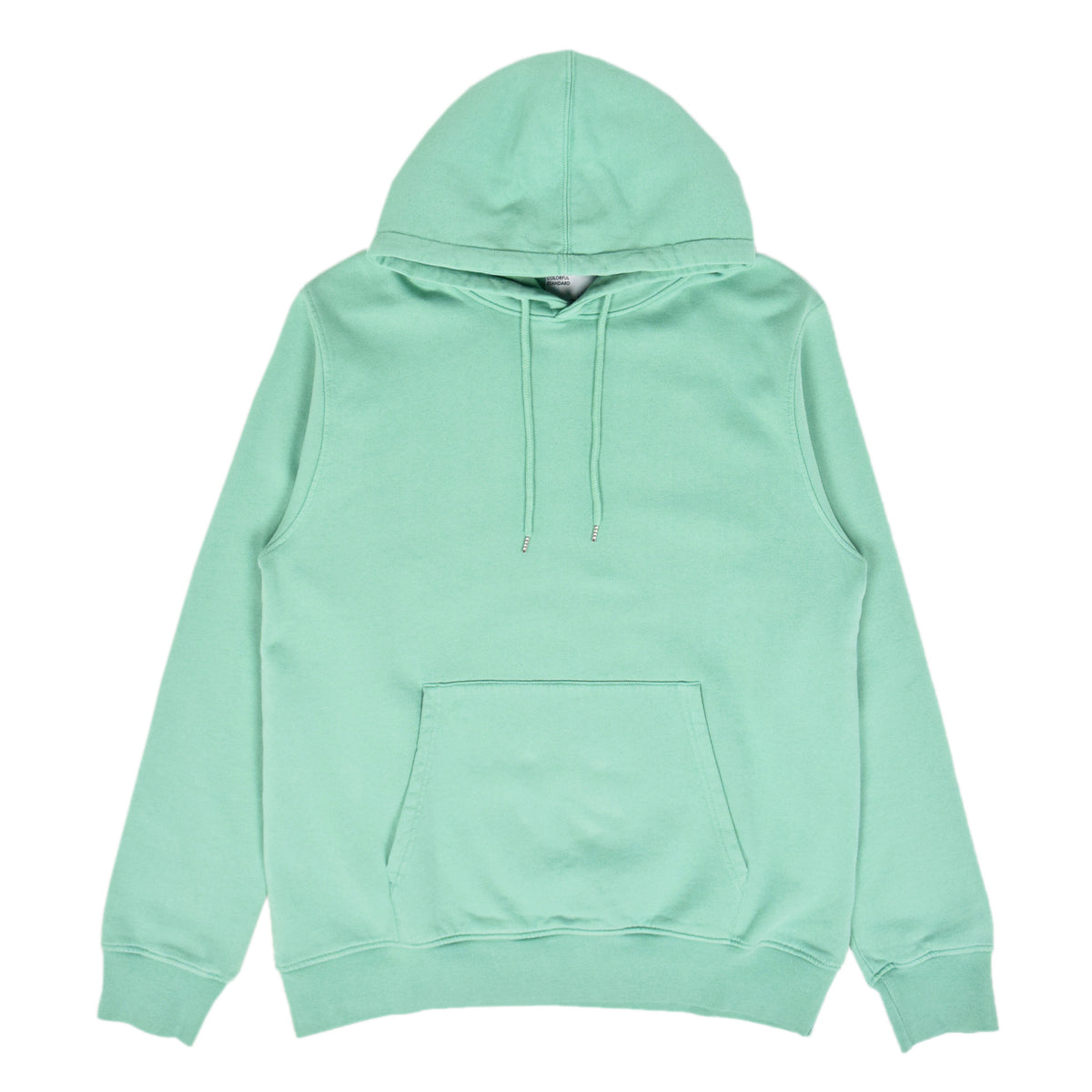 Colorful Standard Classic Organic Cotton Hood Sweat Faded Mint front
