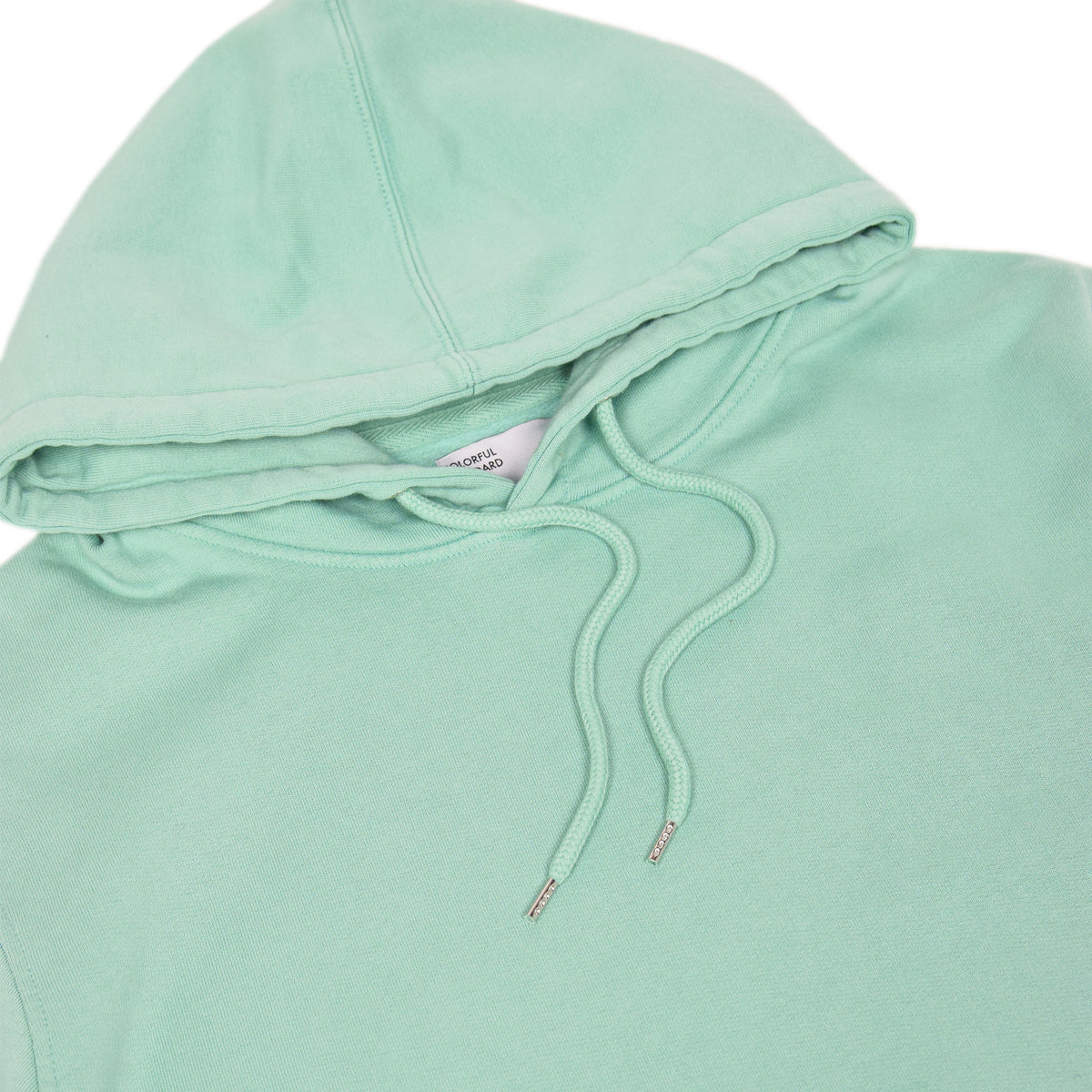 Colorful Standard Classic Organic Cotton Hood Sweat Faded Mint hood