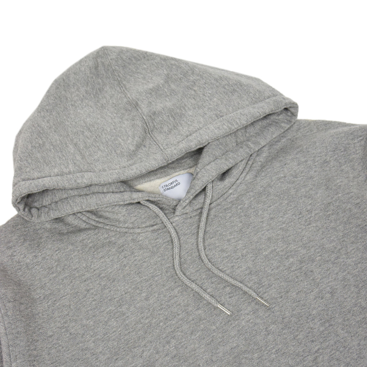 Colorful Standard Classic Organic Cotton Hood Sweat Heather Grey hood