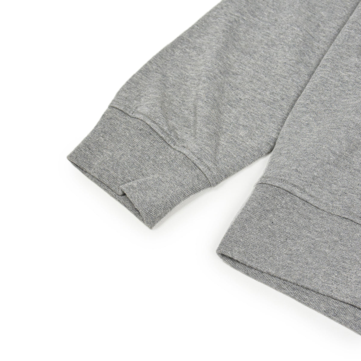 Colorful Standard Classic Organic Cotton Hood Sweat Heather Grey arm