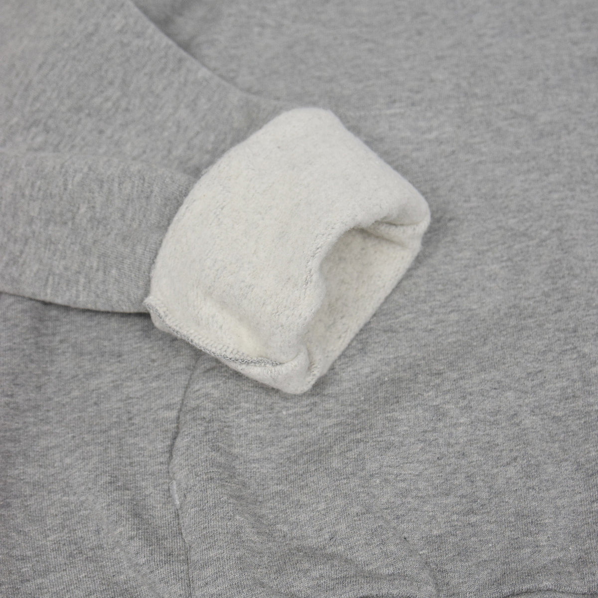 Colorful Standard Classic Organic Cotton Hood Sweat Heather Grey rolled cuff