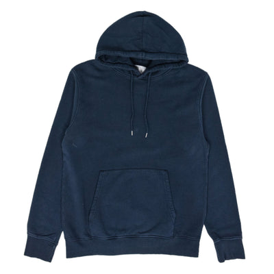 Colorful Standard Classic Organic Cotton Hood Sweat Navy Blue front