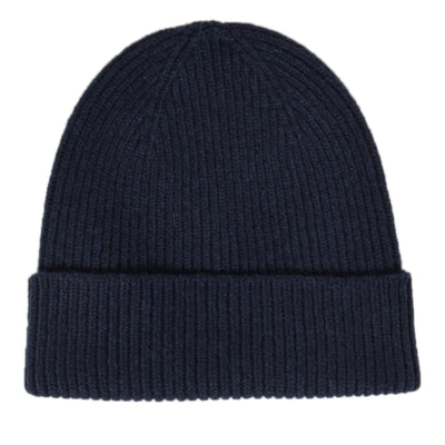 Colorful Standard Classic Organic Cotton Beanie Navy Blue