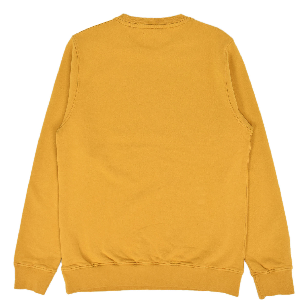 Colorful Standard Classic Organic Cotton Crew Sweat Burned Yellow back