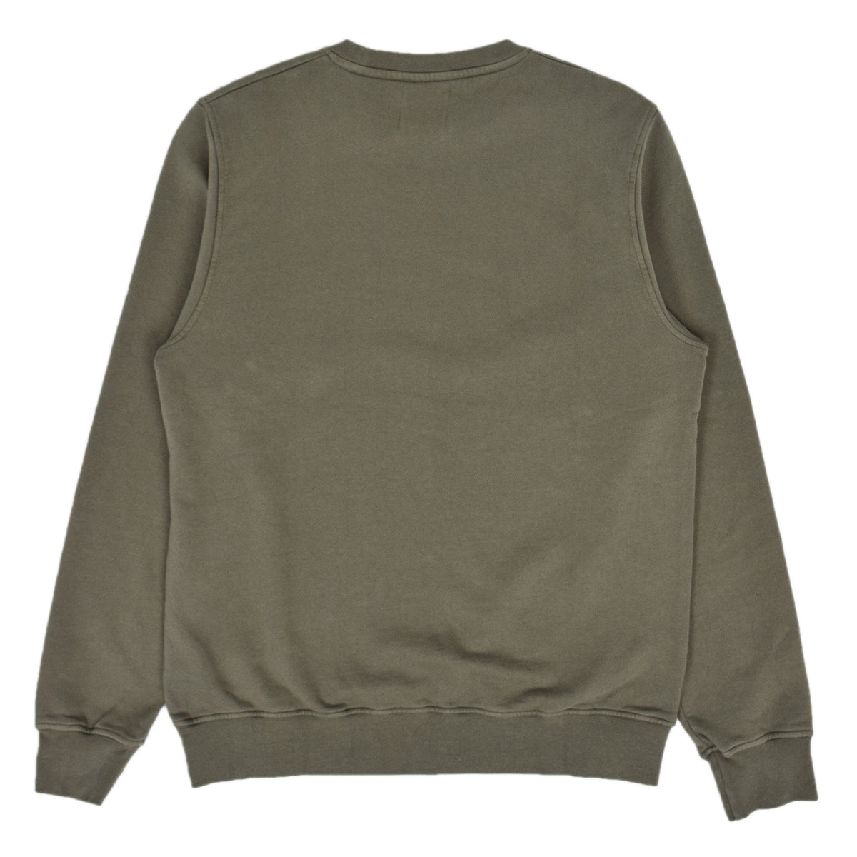 Colorful Standard Classic Organic Cotton Crew Sweat Dusty Olive back