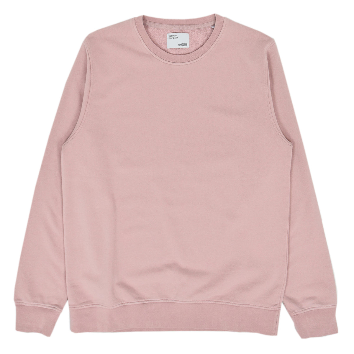 Colorful Standard Classic Organic Cotton Crew Sweat Faded Pink front