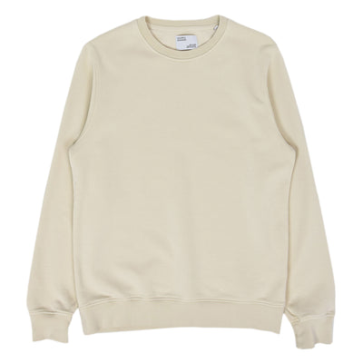 Colorful Standard Classic Organic Cotton Crew Sweat Ivory White front