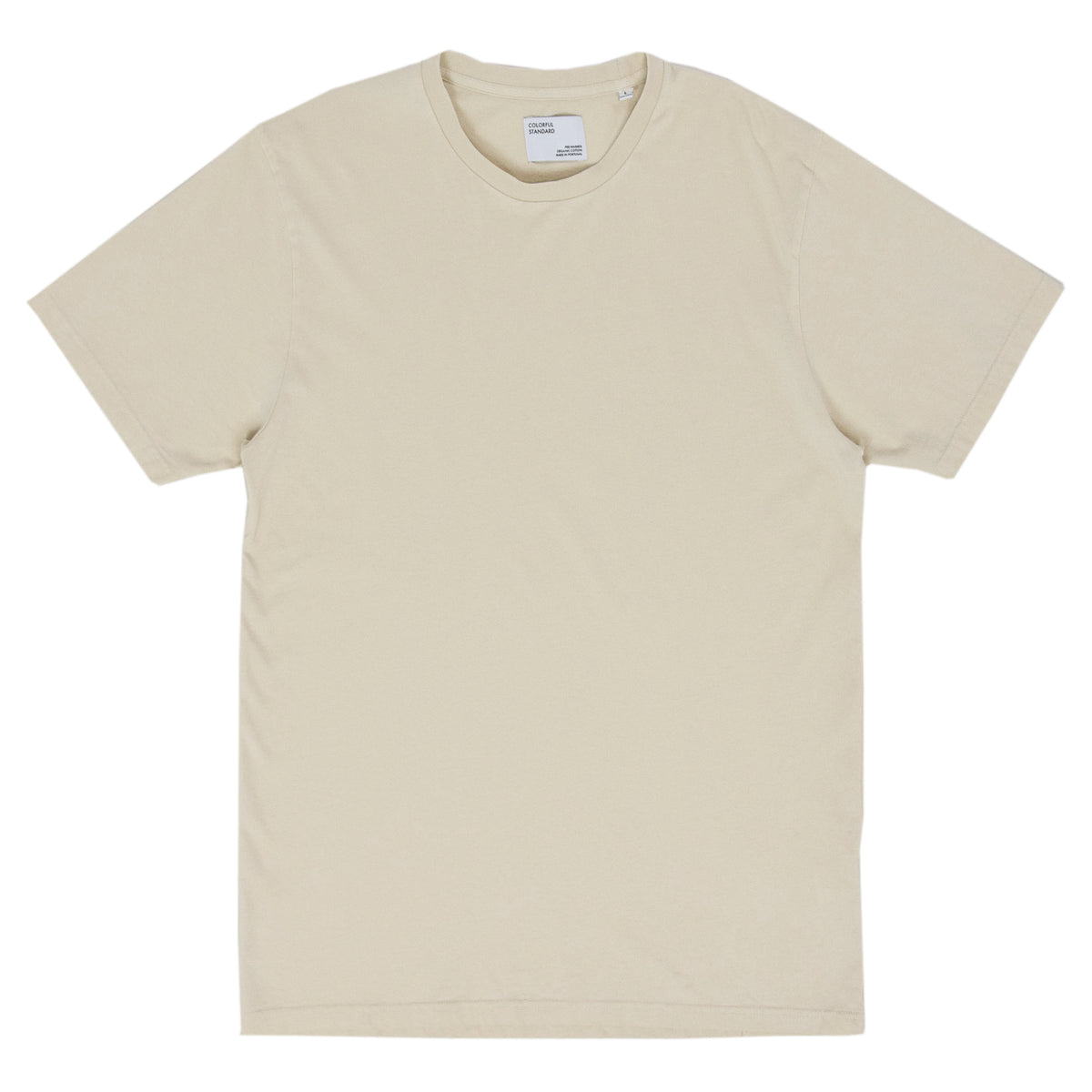 Colorful Standard Classic Organic Cotton Tee Ivory White front