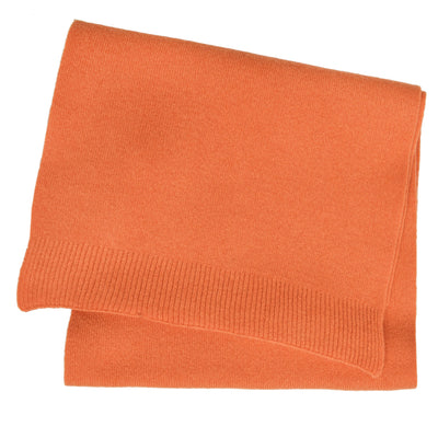 Colorful Standard Merino Wool Unisex Scarf Burned Orange FRONT