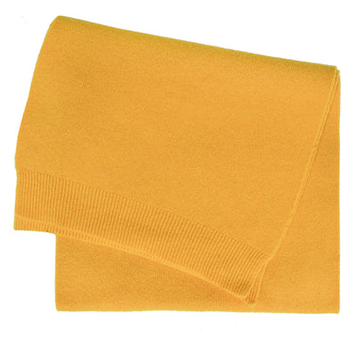 Colorful Standard Classic Organic Cotton Scarf Burned Yellow front