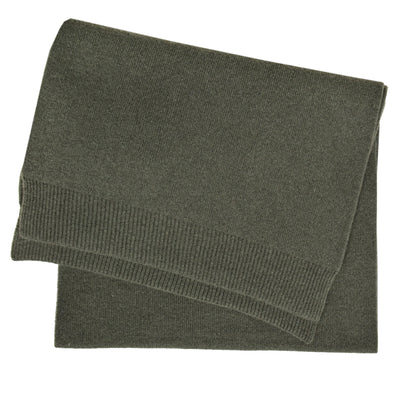 Colorful Standard Merino Wool Unisex Scarf Dusty Olive FRONT