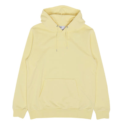 Colorful Standard Classic Organic Cotton Hood Sweat Soft Yellow front