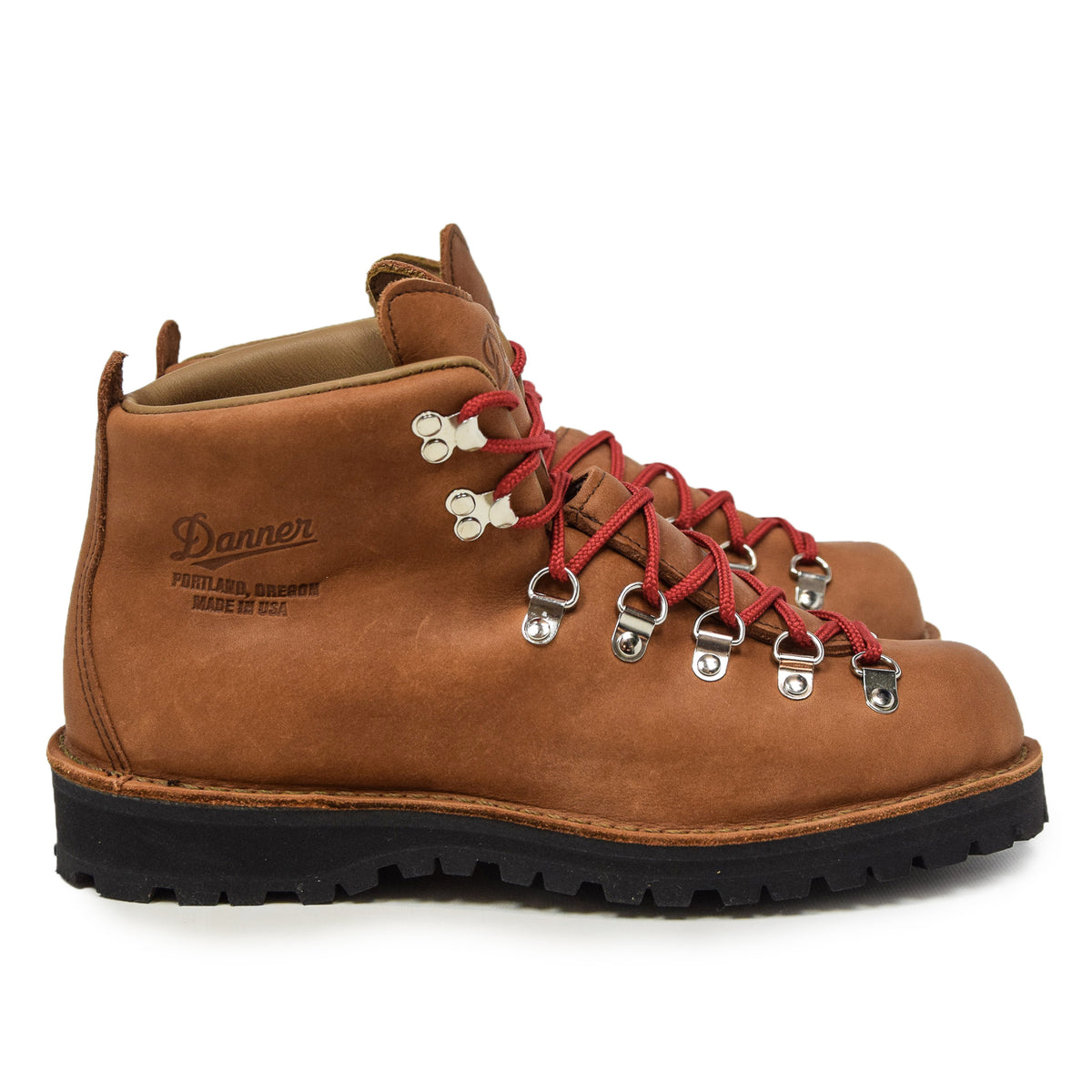 Danner Mountain Light Leather Gore-Tex Boot Cascade Clovis Side