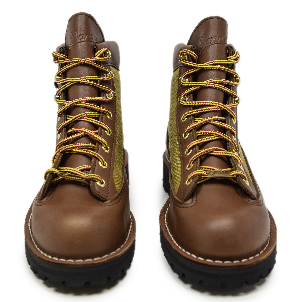 Danner Light Leather And Nylon Gore-Tex Boot Khaki Front