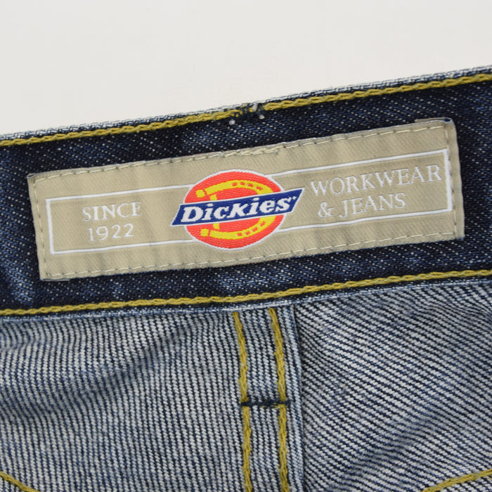 Vintage Dickies Dark Blue Denim Jeans Pant 30 W 32 L label