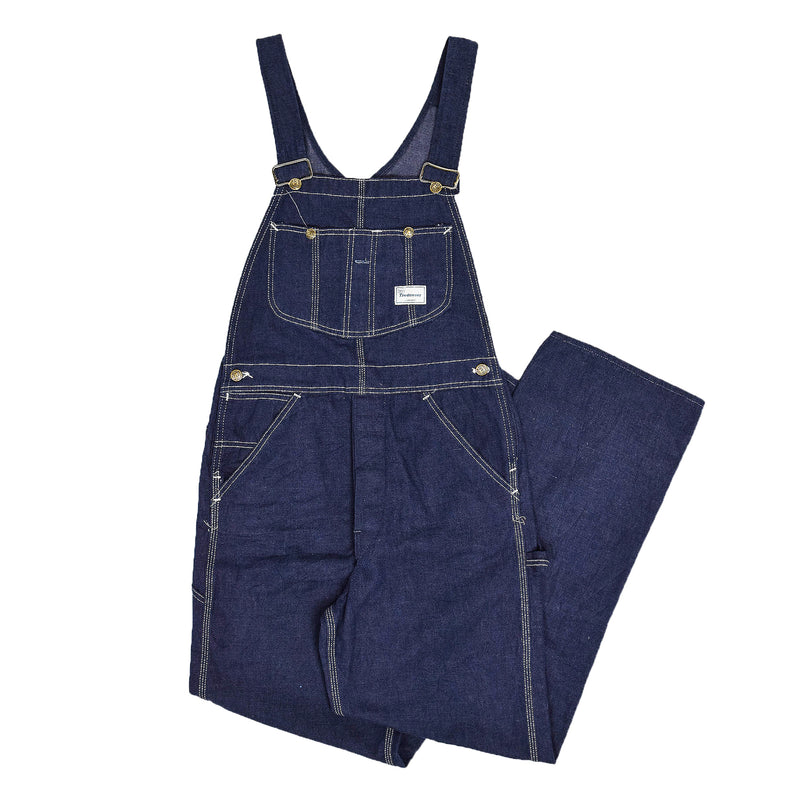 Vintage Sears Union Made USA Workwear Dungarees Blue Denim Overalls XS FRONT