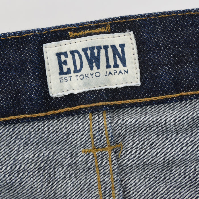 Edwin Selvedge ED-80 Japanese Denim Slim Tapered Jeans 36 W 32 L label