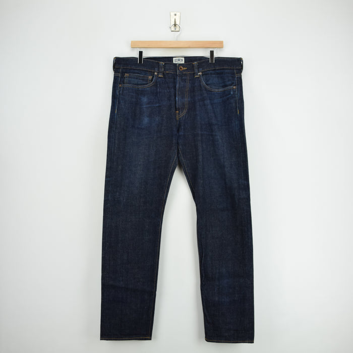 Edwin Selvedge ED-80 Japanese Denim Slim Tapered Jeans 36 W 32 L front