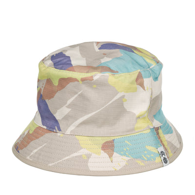 Element x Nigel Cabourn Reversible Abstract Camo Bucket Hat FRONT