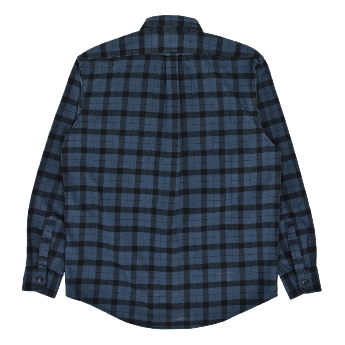 Filson Alaskan Guide Cotton Flannel Shirt Blue/Black Back