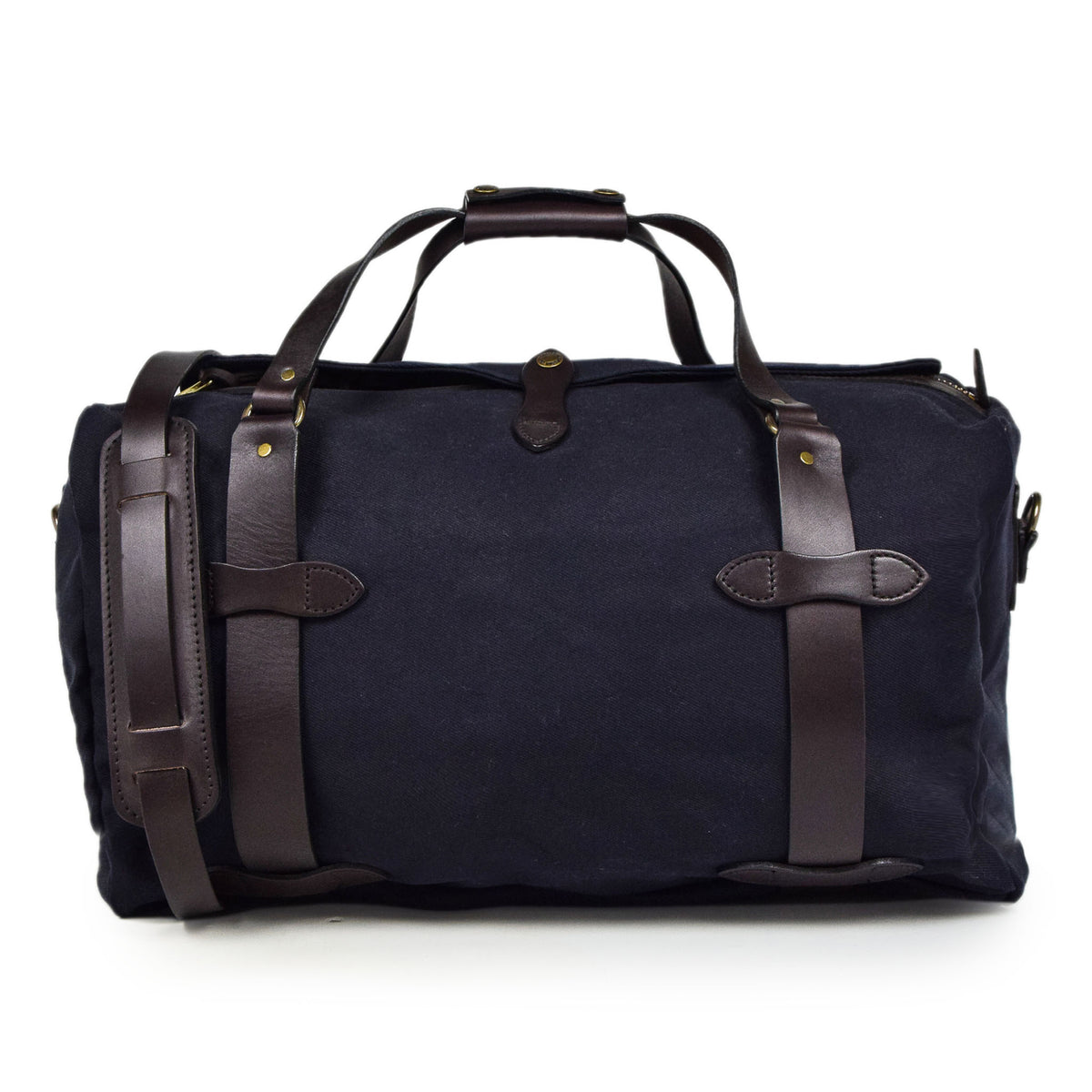 Filson Rugged Twill Carry-On Duffle Bag Navy Front