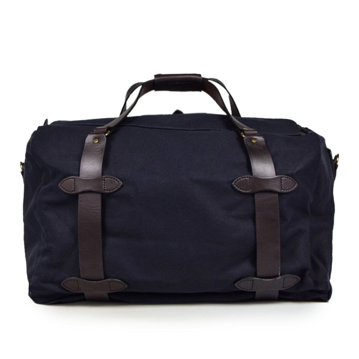 Filson Rugged Twill Carry-On Duffle Bag Navy Back