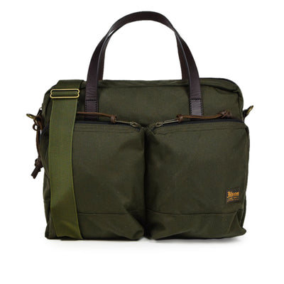 Filson Dryden Briefcase Shoulder Bag Otter Green Front