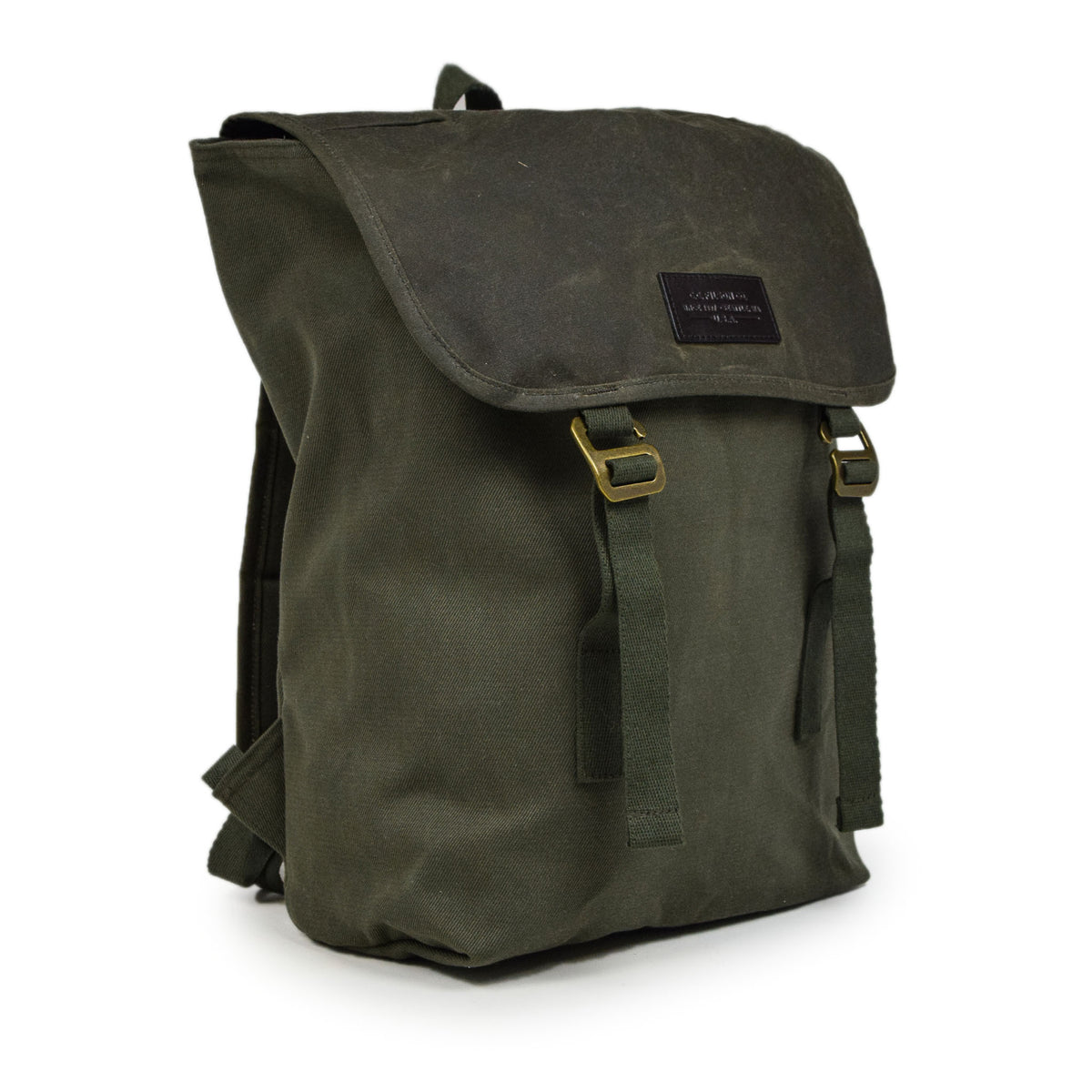 Filson Rugged Twill Ranger Backpack Otter Green Side