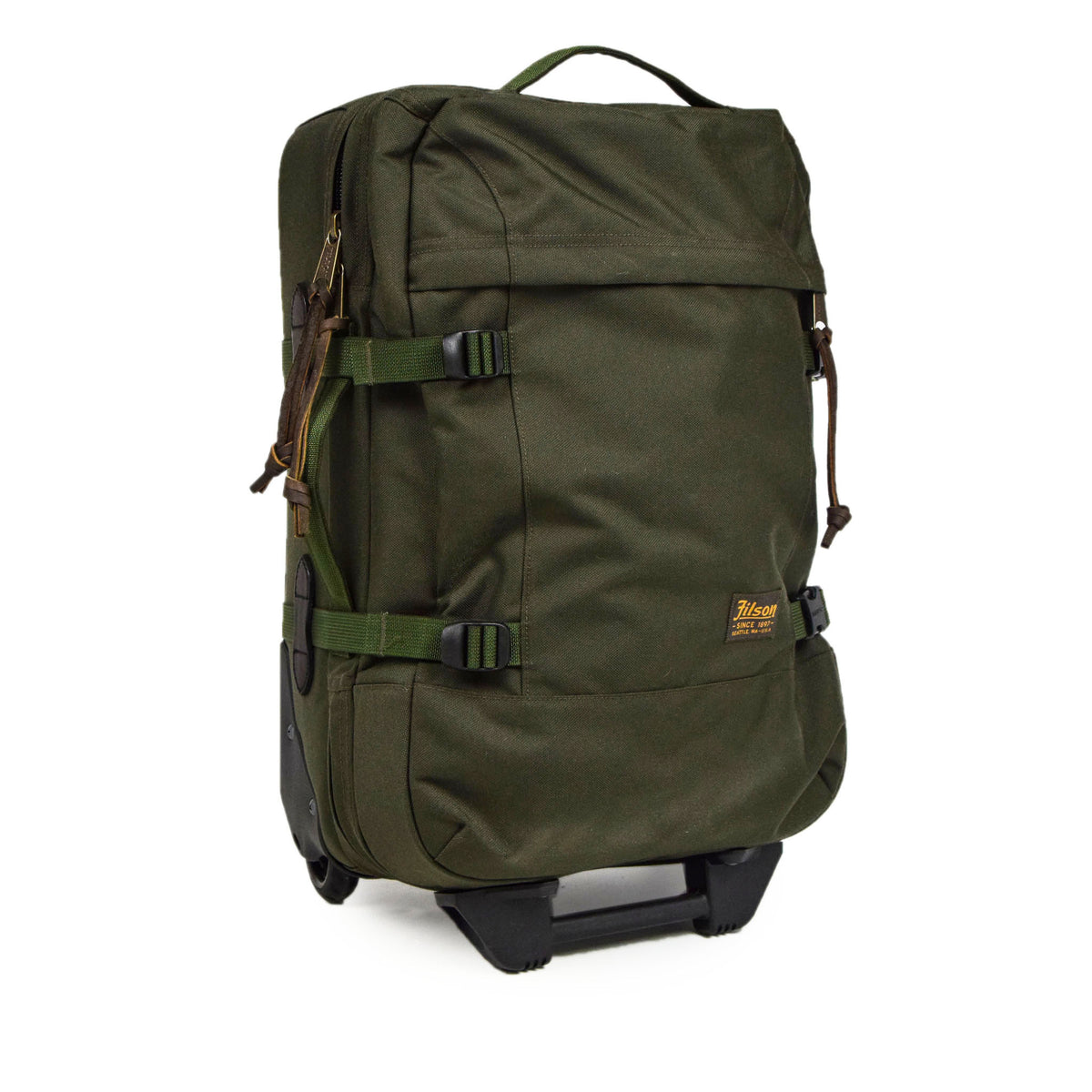 Filson Dryden Cordura Nylon 2-Wheel Carry-on Bag side