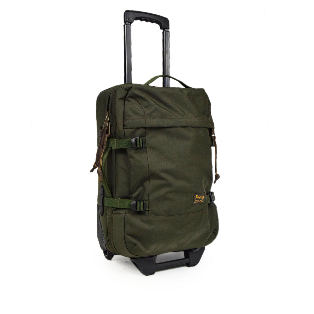 Filson Dryden Cordura Nylon 2-Wheel Carry-on Bag handle