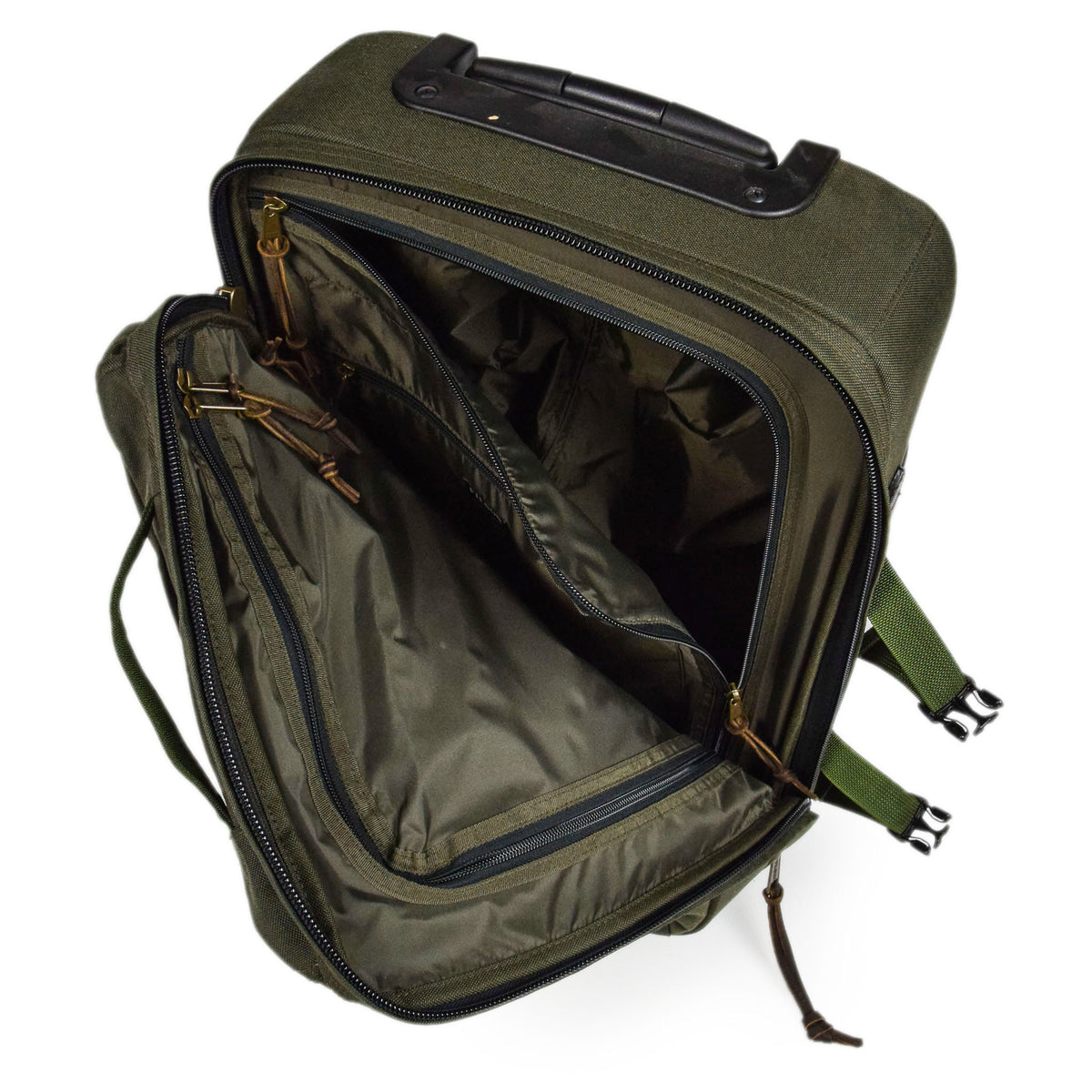 Filson Dryden Cordura Nylon 2-Wheel Carry-on Bag inside detail