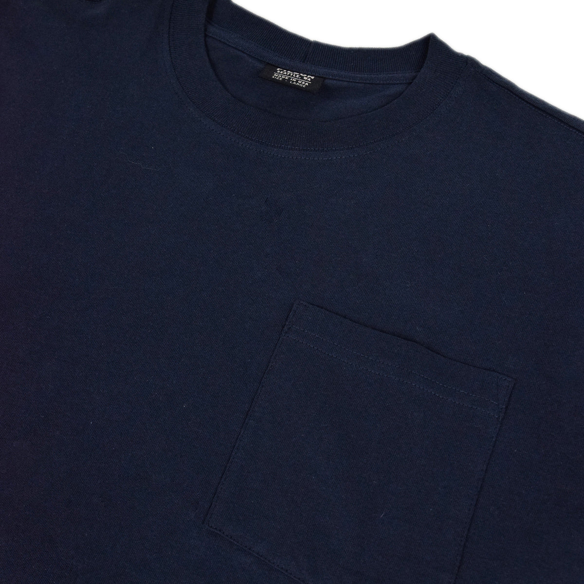 Filson Short Sleeve Outfitter One Pocket T-Shirt Dark Navy detail