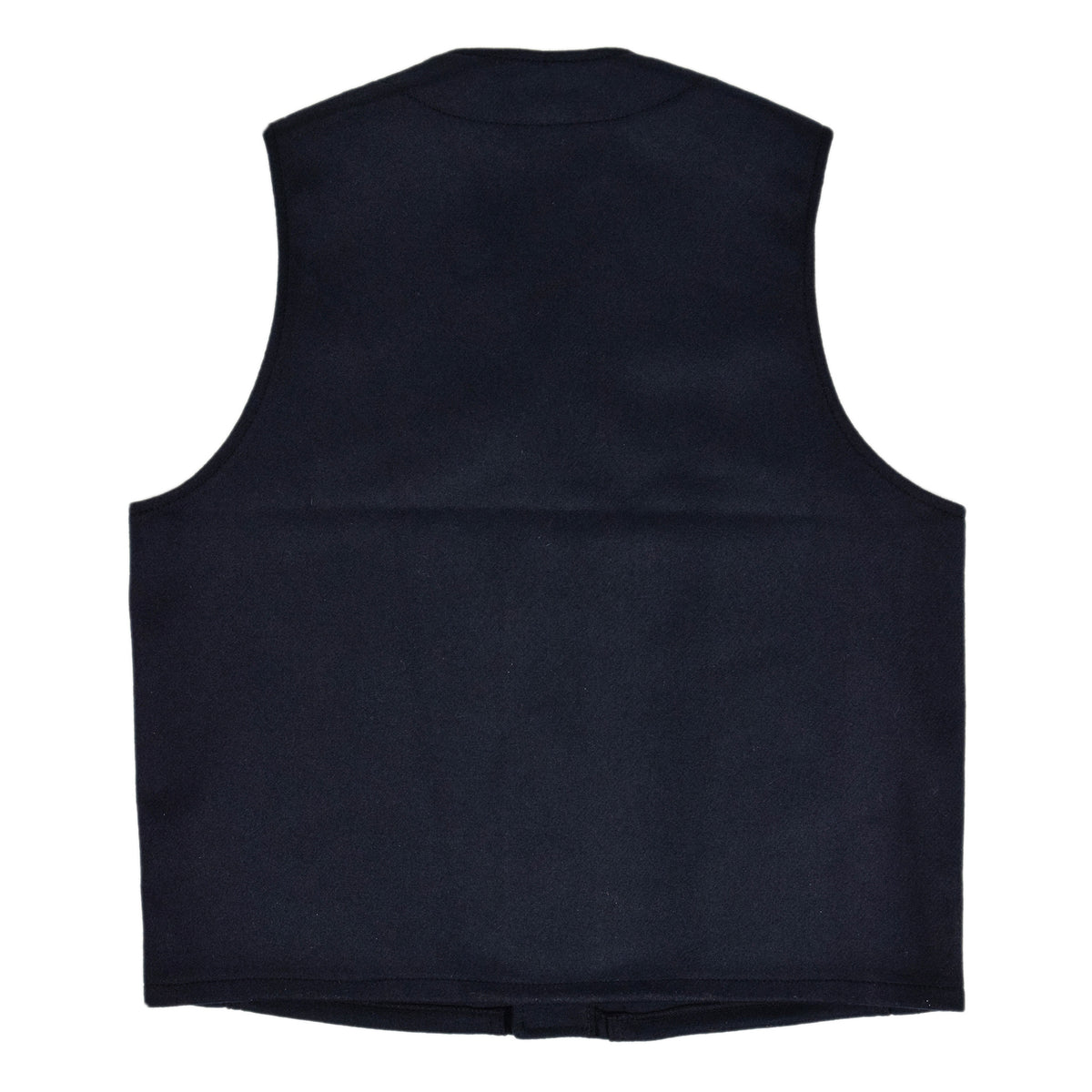 Filson Mackinaw Wool Vest Navy Back