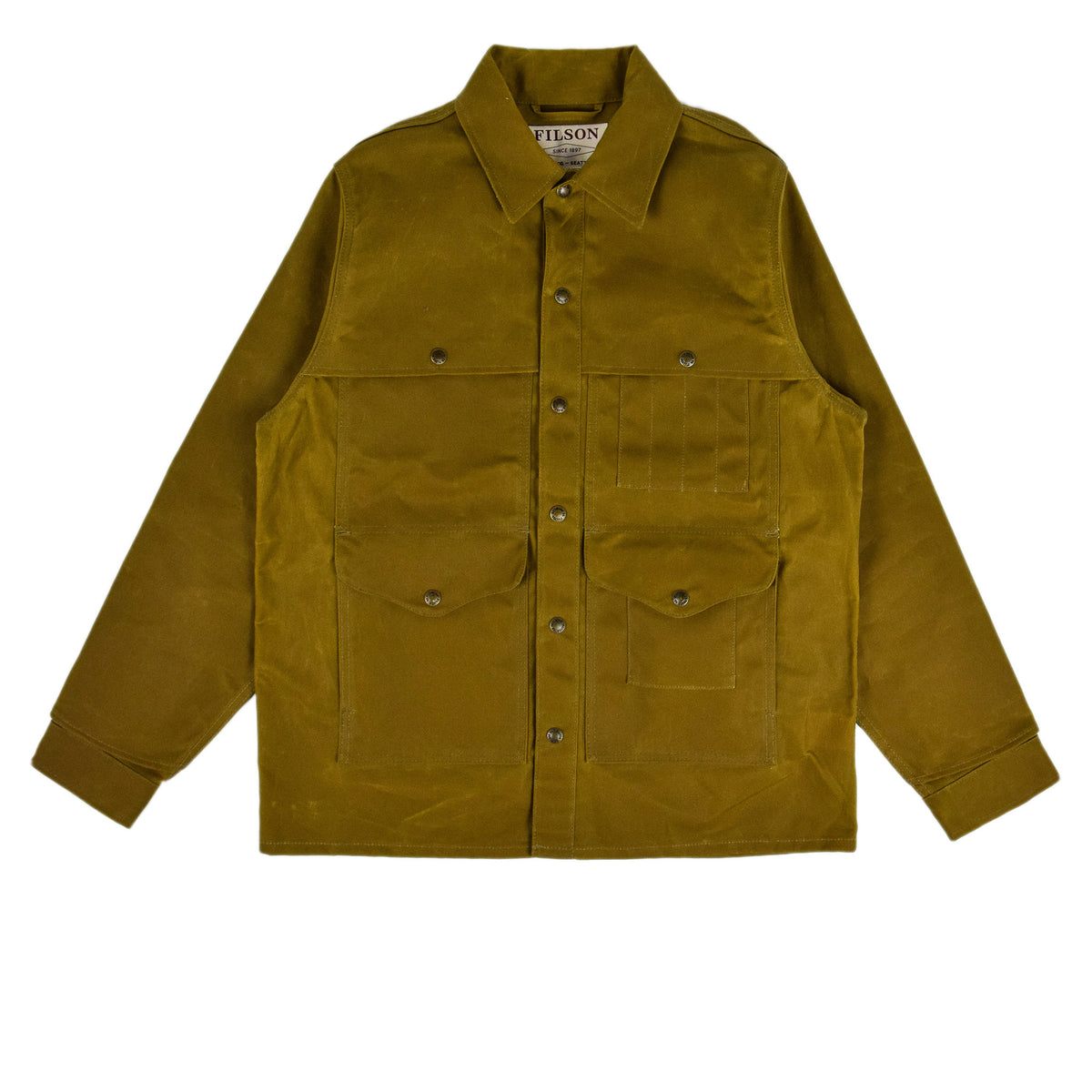 Filson Tin Cloth Cruiser Dark Tan front