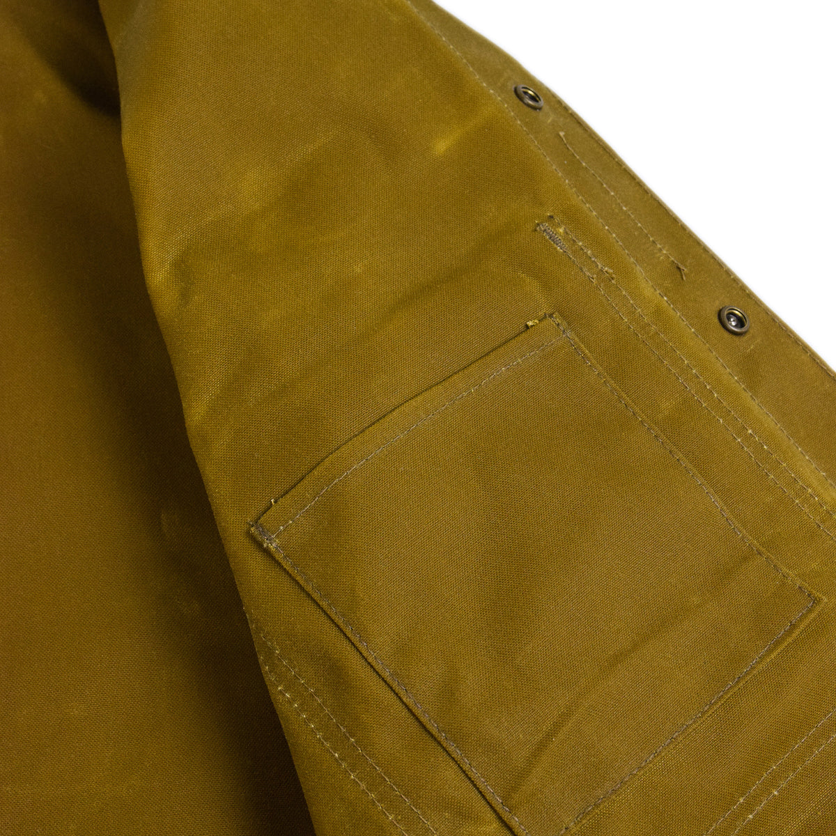 Cruiser Dark Tan Tin Cloth Wax Cotton Alaska Fit Inside Pocket
